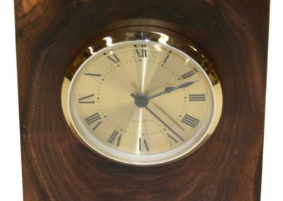 Walnut Mantel Clock 6