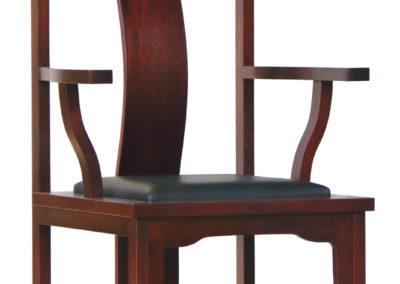 Modern Ming Arm Chair #1