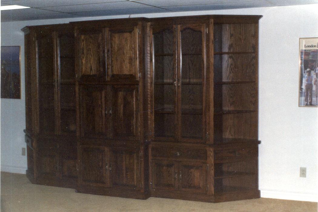 Oak Wall Unit
