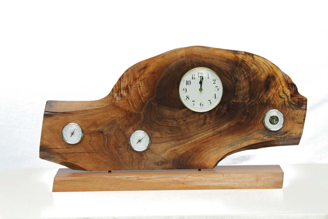 Walnut Mantel Clock