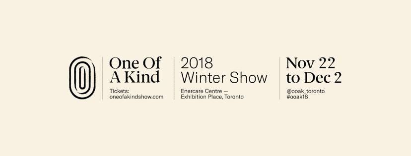 OOAK Winter Show 2018 banner